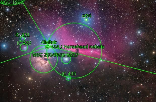 Alnitak Nebulas