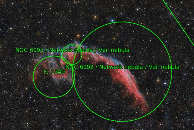 El Velo Este (NGC6992)