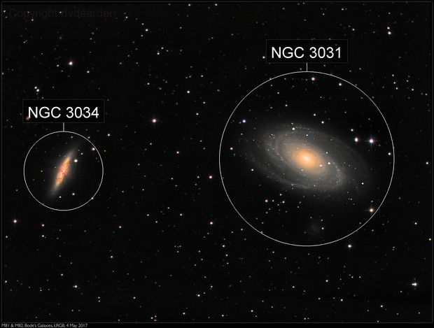 M81 & M82, Bode's Galaxies, LRGB, 4 May 2017