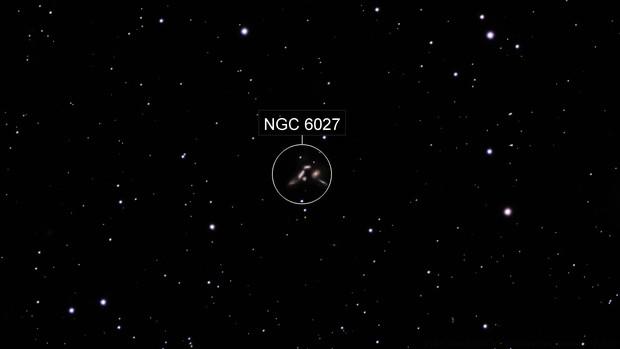 Seyfert's Sextet - NGC 6027