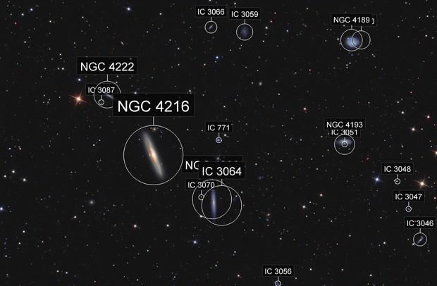 NGC 4216 in Virgo