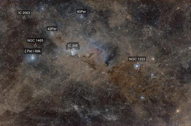 Perseus-Aries Molecular Cloud