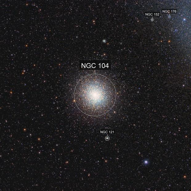 NGC104 (47 Tucanae); Tucanae