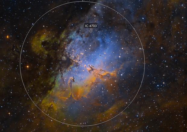 M16 Eagle Nebula - New process