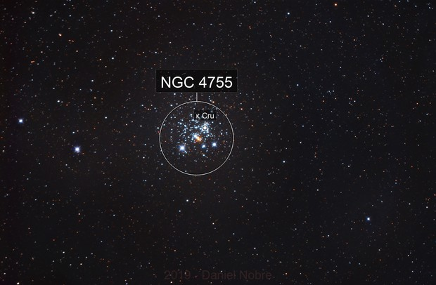 NGC 4755 - The Jewel Box Cluster :-)