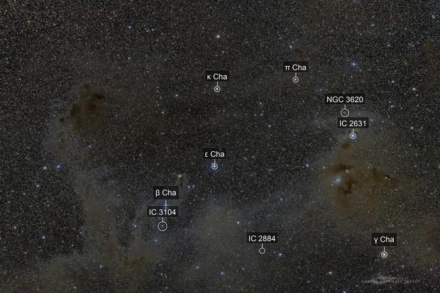 Chamaeleon Molecular Cloud - Faint and Dusty