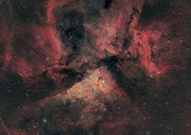 NGC3372, the Great Carina nebula