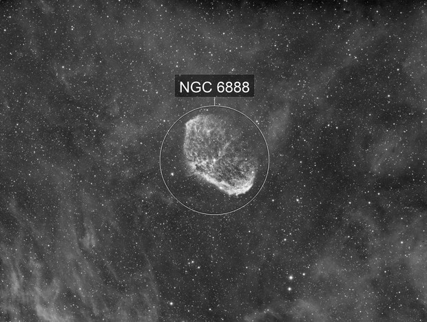 NGC6888 - Crescent & Soap Bubble
