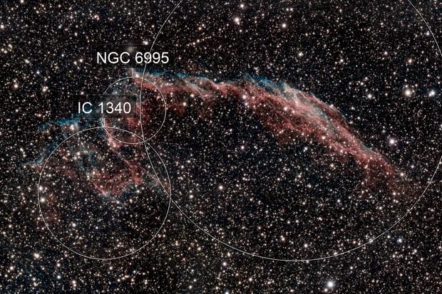 NGC6992 - Nébuleuse du voile