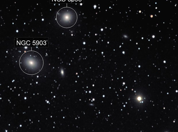 Galaxies far, far away...