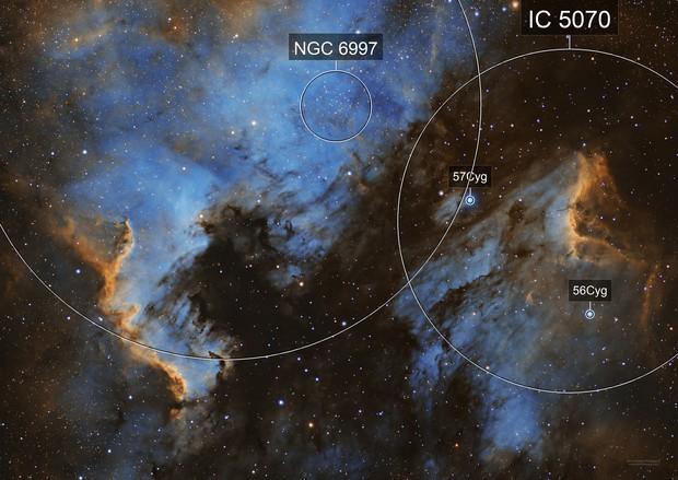 NGC7000+IC5067 Mosaic