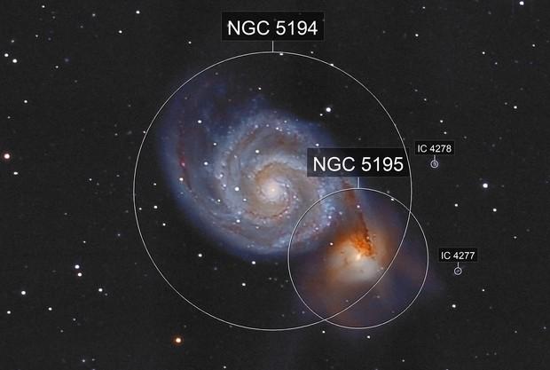 "M51 ""Whirlpool-Galaxy"""