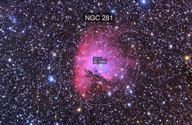 Pac Man Nebula