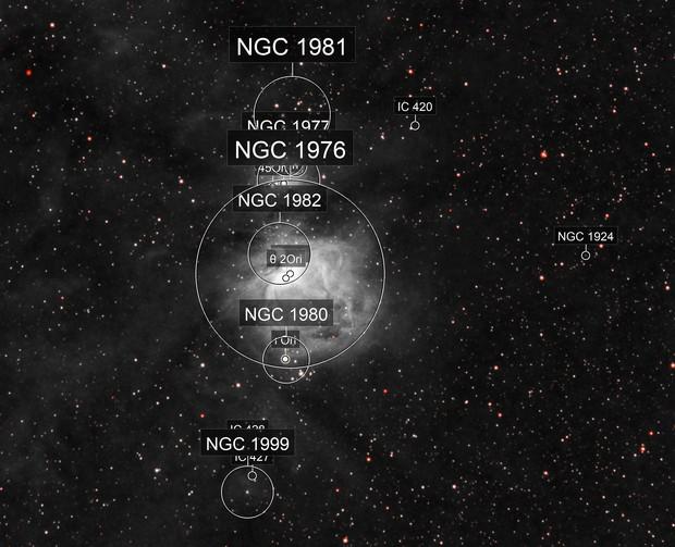 Orion in Ha-NIR (mono + Red)