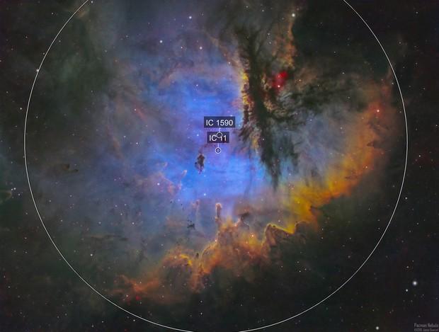 NGC281 - The Pacman Nebula