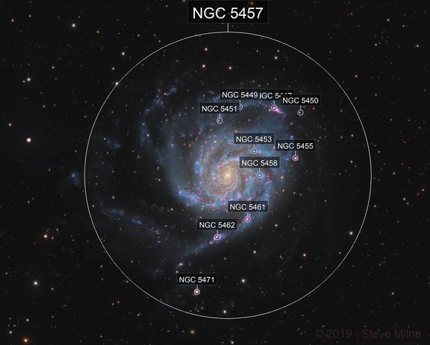 Messier 101 (the Pinwheel Galaxy) in Ursa Major