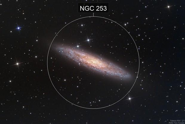 Galaxia del Escultor - NGC 253