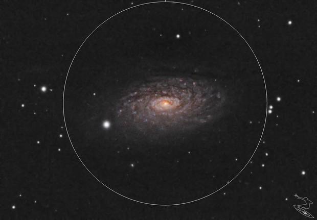 M63-Sunflower Galaxy