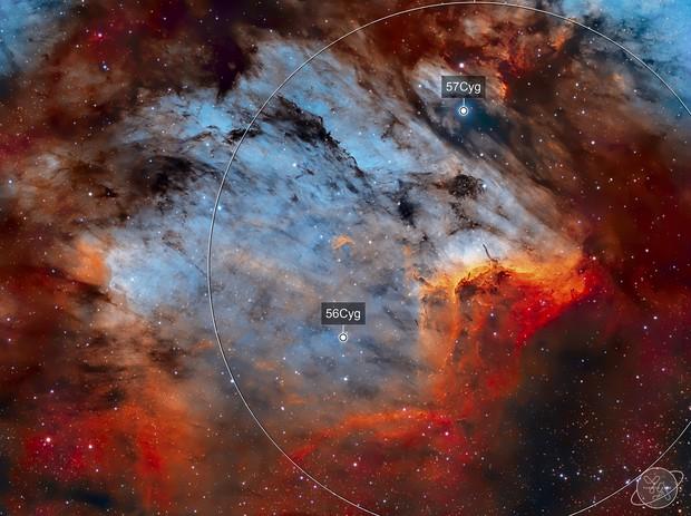 IC 5070 - Pelican Nebula