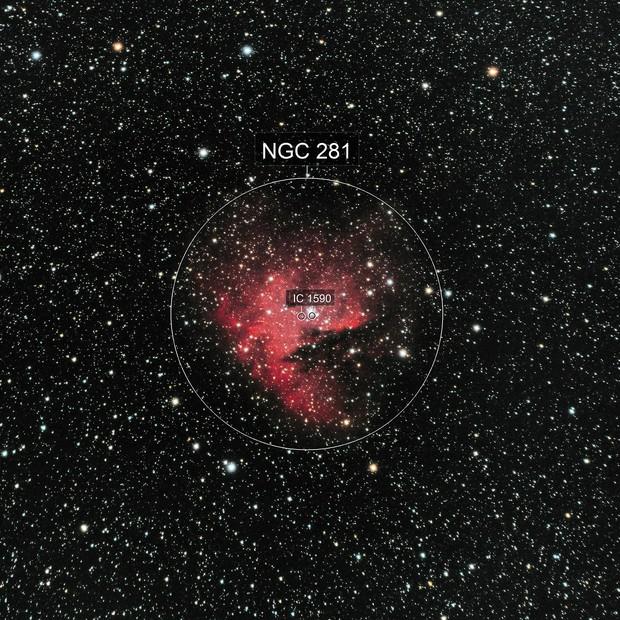 NGC281: The Pacman Nebula