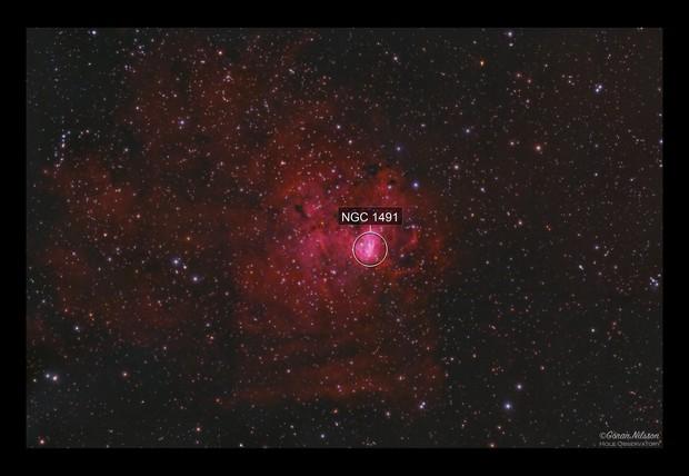 NGC 1491 - The Wild Boar Nebula in Perseus