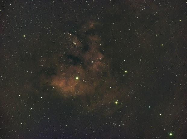 NGC 7822-Ha-HSO-Meade 80 ED triplet-Orion flattener-ASI 1600 MM-Pro