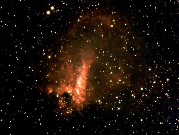Messier 17-Omega Nebula