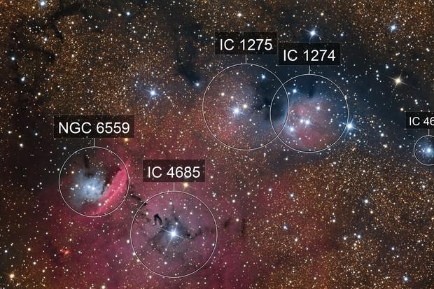 IC 4685 in Sagittarius