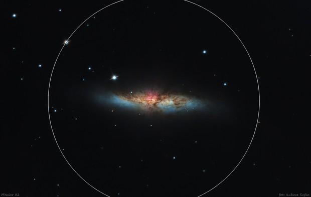 Messier 82 - Cigar Galaxy