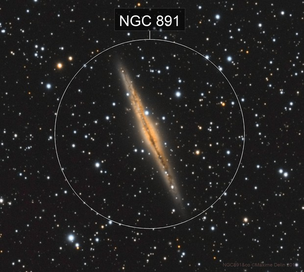 NGC891&co color version