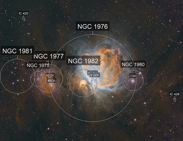 Messier 42 - narrowband - repost