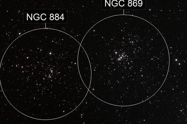NGC869 NGC884