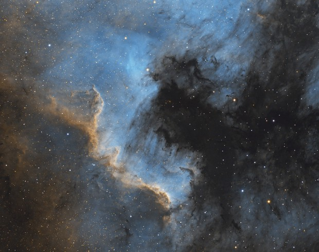 NGC 7000 in HST