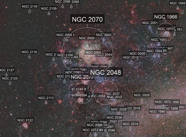 NGC2070 RGB + Narrowband Bicolor