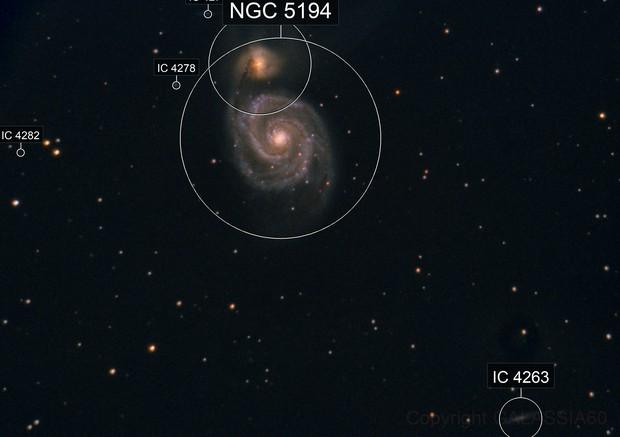M 51 - NGC 5194