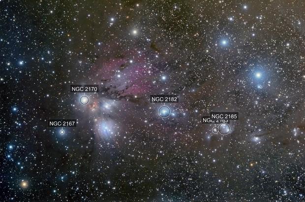 NGC2170 area