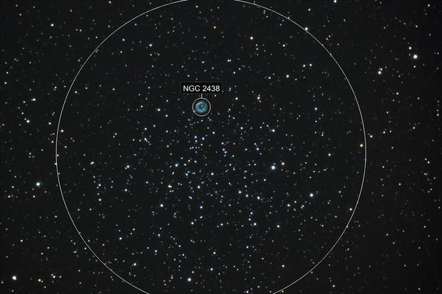 M46 and NGC 2438