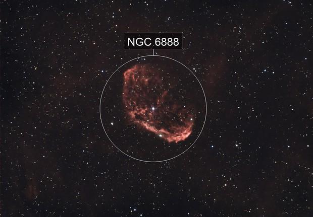 Crescent Nebula HRGB