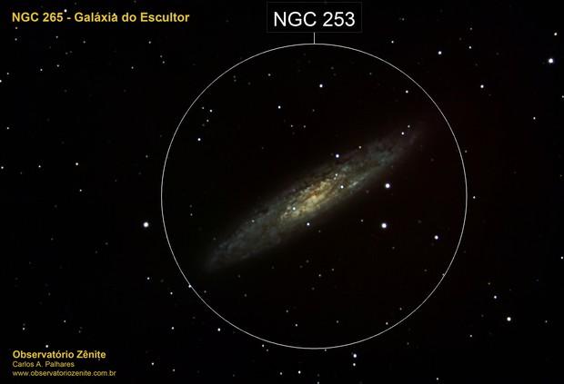 NGC253 - Galaxia do Escultor