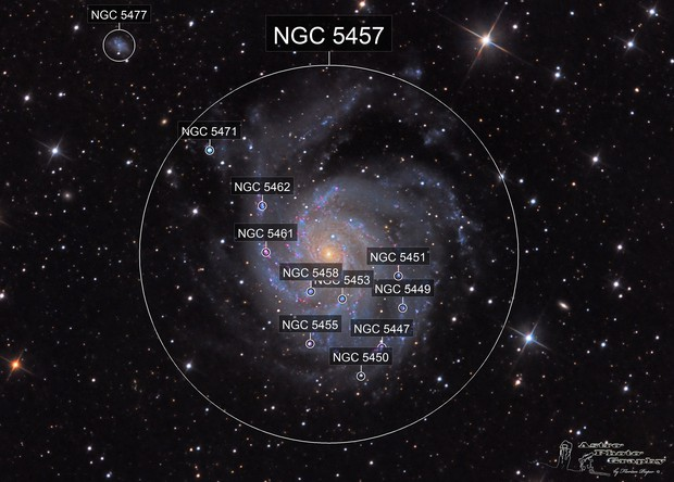 M101 A Pinwheel in the Universe