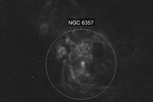 NGC 6357 - Ha