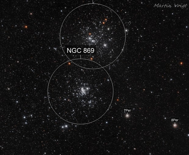 NGC 896 H Chi Persei