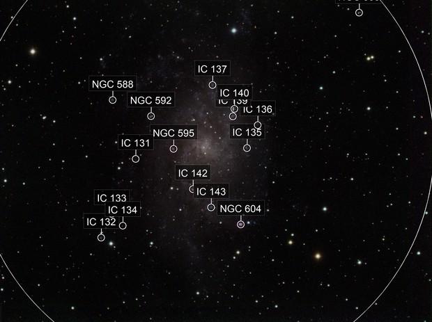 M33 triangalum galaxy