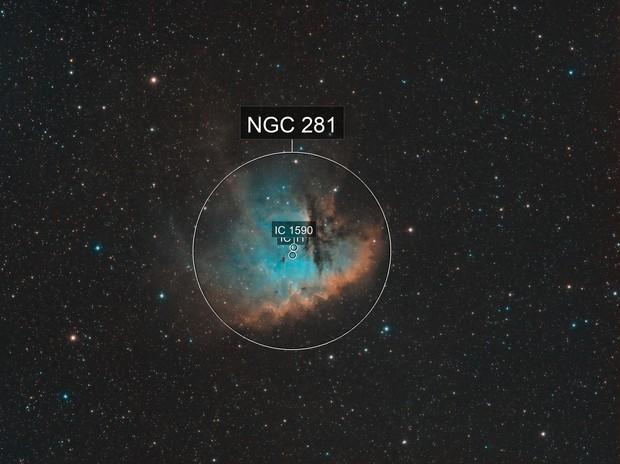 NGC 281 /  Sh2-184 / Pacman  - Modern Hubble