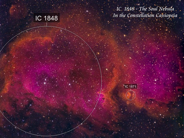 IC 1448 - The Soul Nebula   SHO