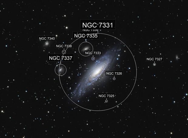 Deer Lick Group - NGC 7331