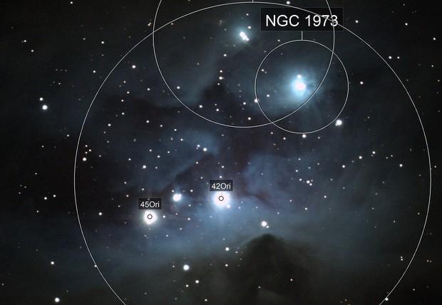 The Running Man Nebula