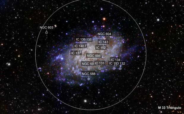 M33 Triángulo