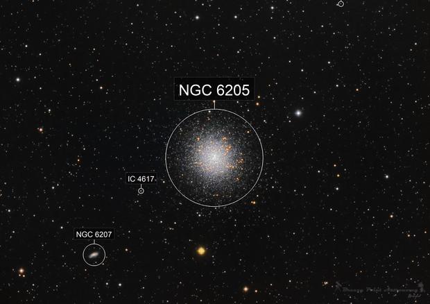 M 13 - The Hercules Globular Cluster