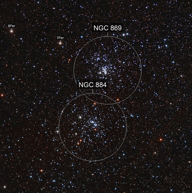 NGC 869 & NGC 884 The Double Cluster LRGB